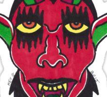 Devil Doll Sticker