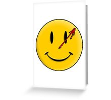 Smiley Watchmen Greeting Card