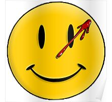 Smiley Watchmen Poster