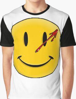 Smiley Watchmen Graphic T-Shirt