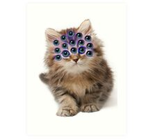 Mutant Cat Art Print