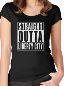 GTA - Liberty City Women's Fitted Scoop T-Shirt