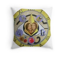 Bering and Wells - Out of Time Throw Pillow