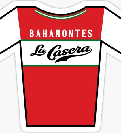 Retro Jerseys Collection - La Casera Sticker