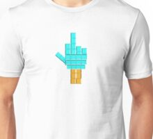 Middle Finger Tetris Unisex T-Shirt