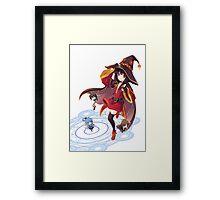 Kawaii Witch Framed Print