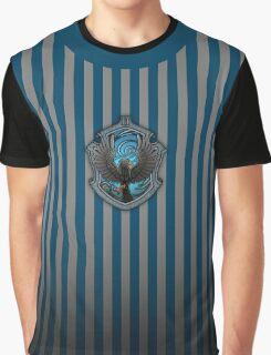 Hogwarts House Crest - Ravenclaw Raven Graphic T-Shirt