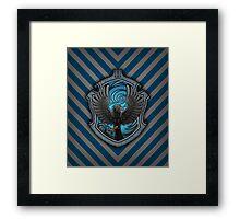 Hogwarts House Crest - Ravenclaw Raven Framed Print