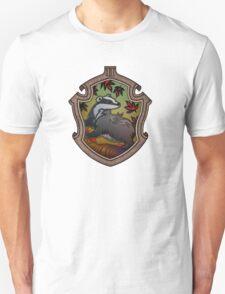 Hogwarts House Crest - Hufflepuff Badger Unisex T-Shirt