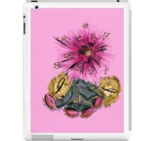 Warrior for breast cancer iPad Case/Skin