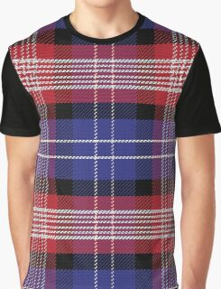 Scottish pattern Saint Andrews Tartan Plaid Graphic T-Shirt