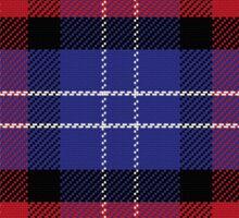 Scottish pattern Saint Andrews Tartan Plaid Sticker