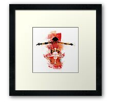 The price of Fire Framed Print