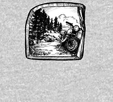 Rocky Mountain Roll - Tent View Womens Fitted T-Shirt