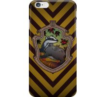 Hogwarts House Crest - Hufflepuff Badger iPhone Case/Skin