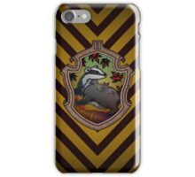 Hogwarts House Crest - Hufflepuff Badger iPhone Case/Skin