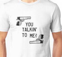 Taxi Driver Quote You Talkin To Me Robert De Niro Badass Guns Unisex T-Shirt