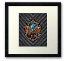Hogwarts House Crest - Ravenclaw Eagle Framed Print