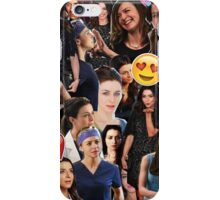 Caterina Scorsone iPhone Case/Skin