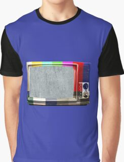 No signal TV Graphic T-Shirt