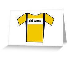 Retro Jerseys Collection - Del Tongo Greeting Card