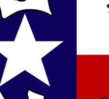 Texas flag horse Sticker
