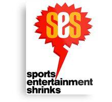 SES Podcast - Sports Entertainment Shrinks Metal Print