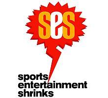 SES Podcast - Sports Entertainment Shrinks Photographic Print