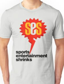 SES Podcast - Sports Entertainment Shrinks Unisex T-Shirt