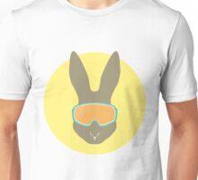 Rabbit with ski mask. Unisex T-Shirt