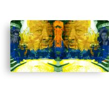 Homage to Sir Alfred Canvas Print