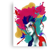 Colorful Eyes Canvas Print
