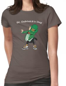 St. Dabtrick's Day Womens Fitted T-Shirt