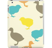 Chick and duckling. iPad Case/Skin