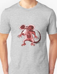 angry rat cartoon style Unisex T-Shirt