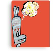 might be a bunny Canvas Print