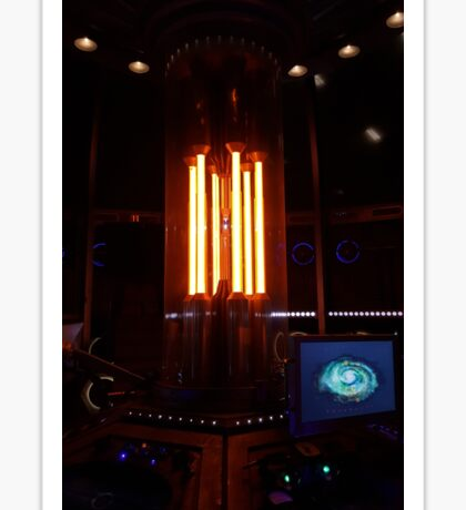 12th Doctor's Tardis Console Sticker