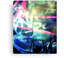 Angst reflected Canvas Print