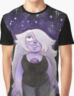 Steven Universe Amethyst - I will fight for the World I Was Made in Graphic T-Shirt