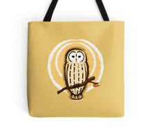 Barred Owl Illustration Tote Bag