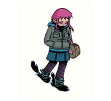 Ramona Flowers Art Print