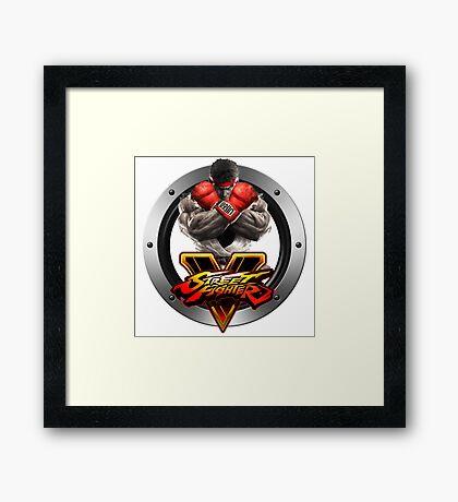 Street Fighter V : Ryu Framed Print