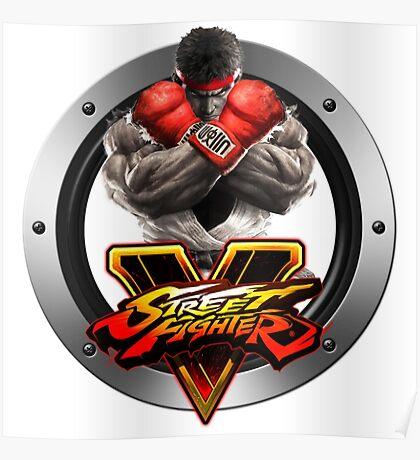 Street Fighter V : Ryu Poster