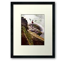 Angel Rock Framed Print