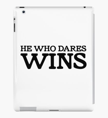 Only Fools And Horses Quote Funny TV Show Del Trotter British Humour iPad Case/Skin