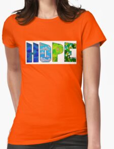 H-O-P-E Womens Fitted T-Shirt