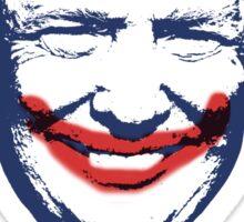 Donald Trump as the Joker t-shirt - madness Sticker