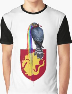 Rainbow Merlin Graphic T-Shirt