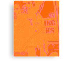 think orange again Canvas Print
