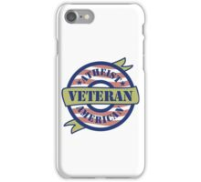 Atheist American Veteran iPhone Case/Skin